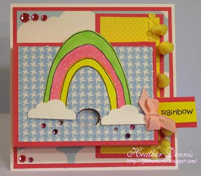 Rainbow treat card 1