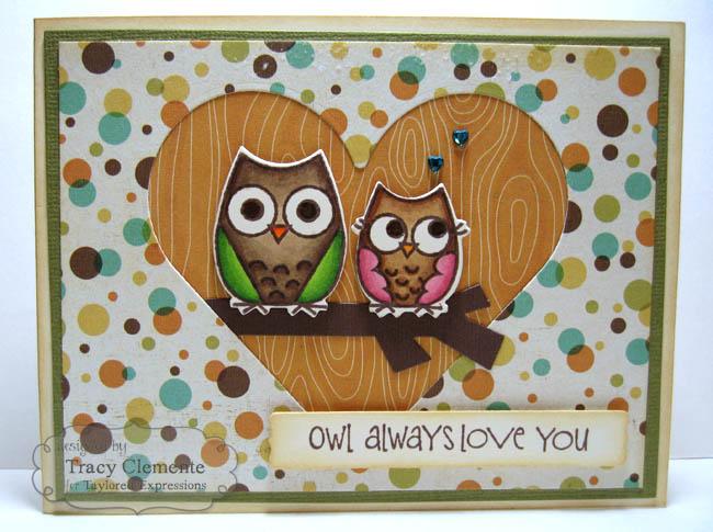 Owl always love you_TRACY