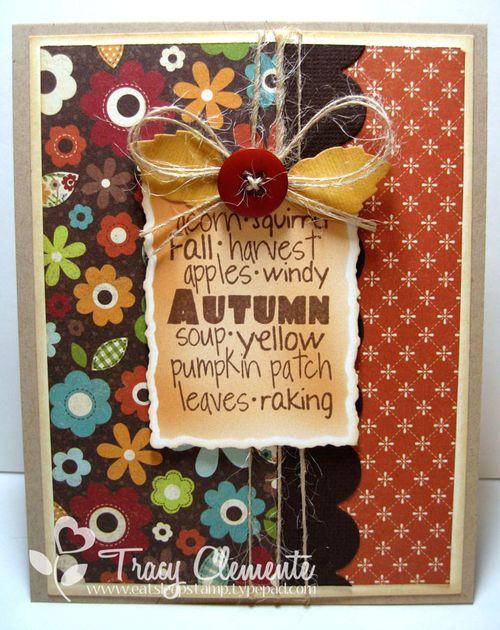 Autumn words_TRACY
